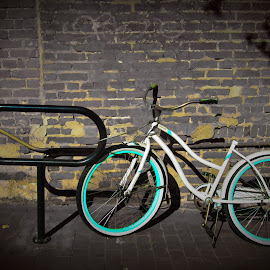 Left Alone & Blue by Brant Stevenson - Transportation Bicycles