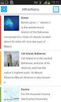 Screenshot of Bahamas & Nassau Map & Guide