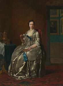 RIJKS: Frans van der Mijn: Portrait of Machteld Muilman 1747