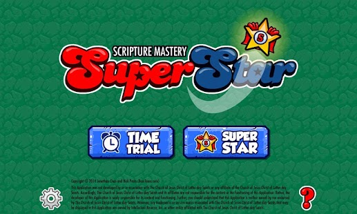 Scripture Mastery SUPERSTAR! - screenshot