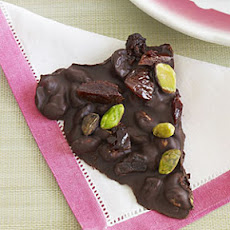 Cherry-Pistachio Chocolate Bark