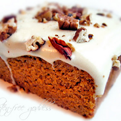 Maple Frosted Pumpkin Cake