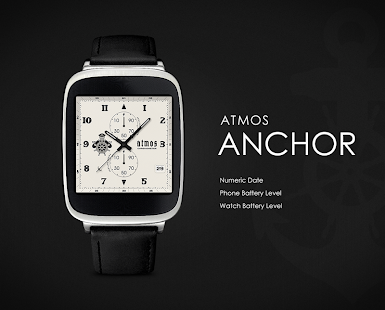 Anchor watchface by Atmos Screenshot
