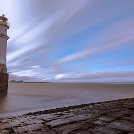Newhaven Lighthouse - Edinburgh by Marcelo Fetz - City,  Street & Park  Historic Districts ( edinburgh, lighthouse )