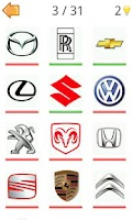 Screenshot of Logo Moto Quiz Challenge Cars