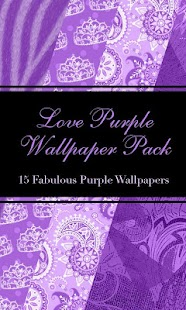 Love Purple Wallpack Pack - screenshot
