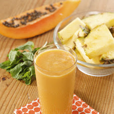 Martha's Pineapple-Papaya Juice