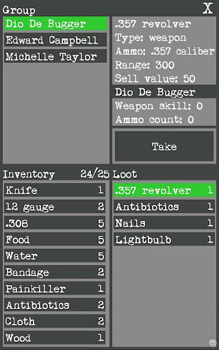 Wasteland Survivor(RPG) - screenshot