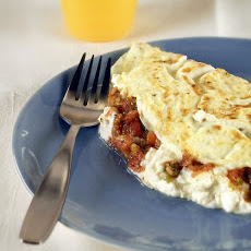 Egg-White Omelet with Goat Cheese