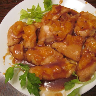 Glazed Orange Chicken