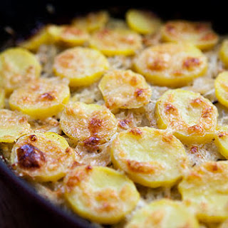 Onion Potato Gratin