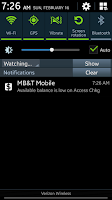 Screenshot of MB&T Mobile