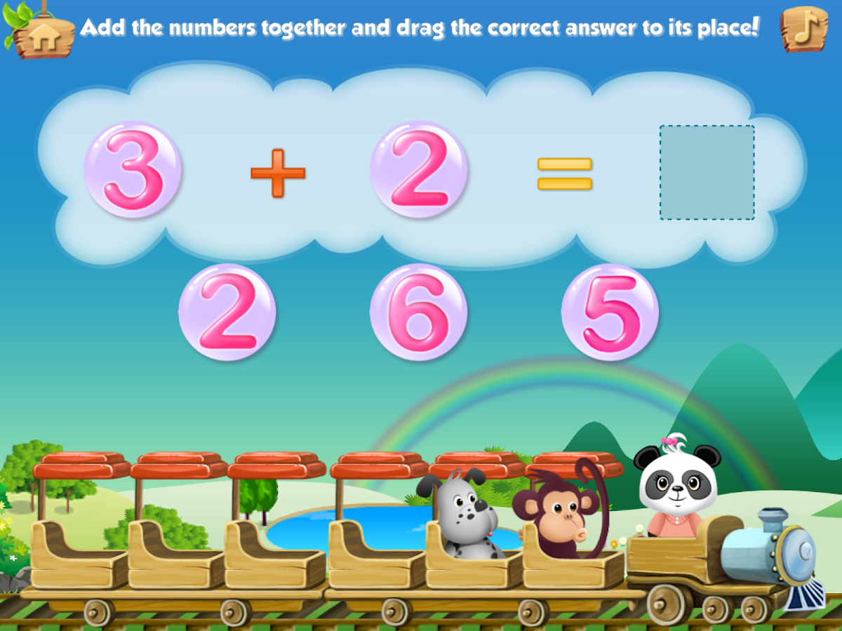Lola's Math Train Learn Basics Screenshot 3