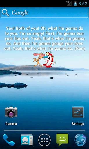 Ren Stimpy Quote Widget