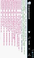 Screenshot of aLogcat (free) - logcat