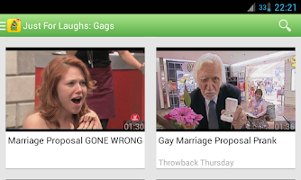 Screenshot of Just for Laughs: Gags & Pranks