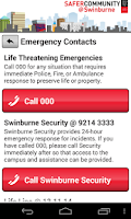 Screenshot of Safe@Swin
