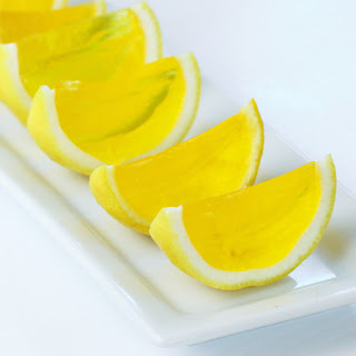 Lemon Drop Jell-O Shots