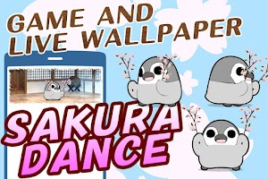 Screenshot of Pesoguin SAKURA DANCE -Penguin