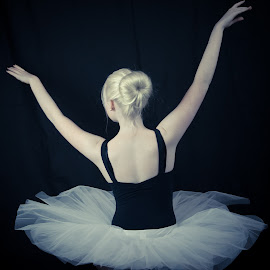 Faceless Ballerina by Esther Visser - People Musicians & Entertainers (  )