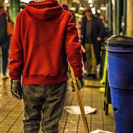 Pike Place Street Photography by Austin Boyce - People Street & Candids ( walking, market, public, man, street photography )