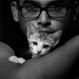 """My cat is not insane, she's just a really good actress.""meet my cat:  by Rajiv Sarkar - Animals - Cats Portraits"