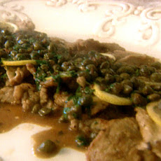 Veal with Lemon and Capers