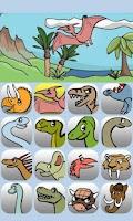 Screenshot of Kids Dinosaurs