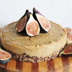 Raw Vegan Lemon and Fig Cheesecake
