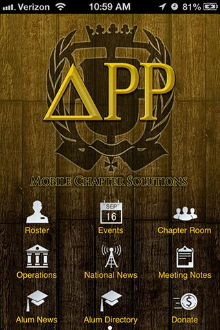 Chapter App