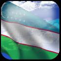 3D Uzbekistan Flag