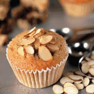 Almond Banana Chocolate Muffins