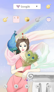 girls hera dodol theme - screenshot