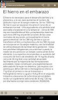 Screenshot of Miniatlas Embarazo y dieta