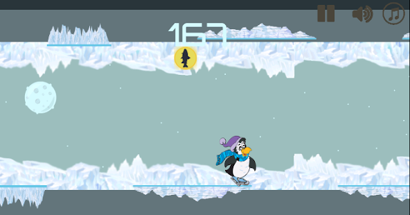 Gravity Penguin :Adventure - screenshot