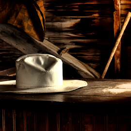 The Hat Remains by Michele Richter - Artistic Objects Clothing & Accessories ( hdr )