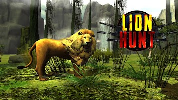 Screenshot of Lion Hunt 3D