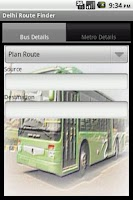 Screenshot of Delhi Route Planner(DTC,Metro)