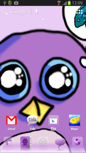 Penguin Theme for ADW Launcher - screenshot