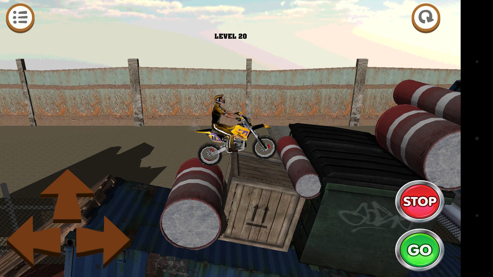3D Motocross Bike: Industrial Screenshot 7