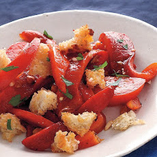 Tomato and Roasted Red Pepper Salad