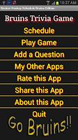 Screenshot of Schedule Boston Bruins Fans