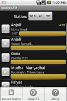 Screenshot of Madras.FM
