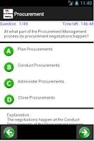 Screenshot of PMP 1500 Sample Questions