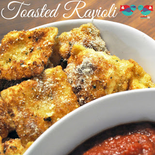 Toasted Ravioli – Breaded & Fried Cheesy Goodness