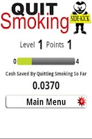 Screenshot of Quit Smoking SideKick
