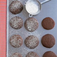 Chocolate-Molasses Cookies