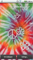Screenshot of Tie Dye Live Wallpaper