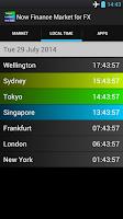 Screenshot of Now Finance Market for FX