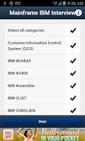 Screenshot of Mainframe IBM Interview QA